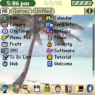 Beach List Theme