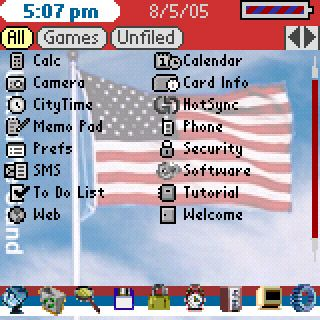 Flag List Theme