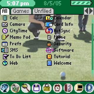 Golf List Theme