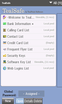 Screenshot1- TealSafe for Android